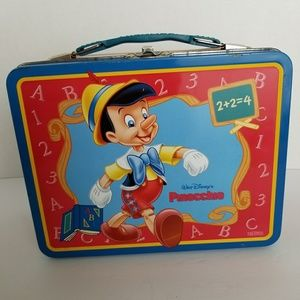 Pinocchio Lunch Box with Thermos